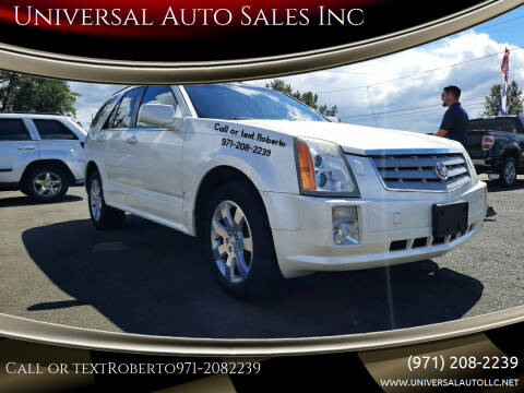 2006 Cadillac SRX for sale at Universal Auto Sales Inc in Salem OR