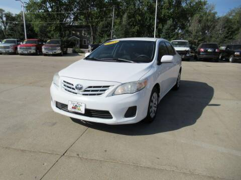 2013 Toyota Corolla for sale at Aztec Motors in Des Moines IA