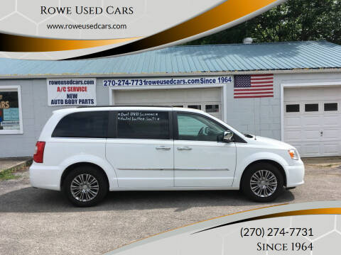 2013 Chrysler Town and Country for sale at Rowe Used Cars in Beaver Dam KY