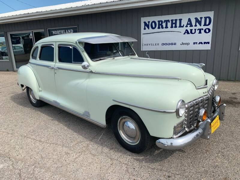 1949 Dodge TOWN SEDAN for sale at Northland Auto in Humboldt IA