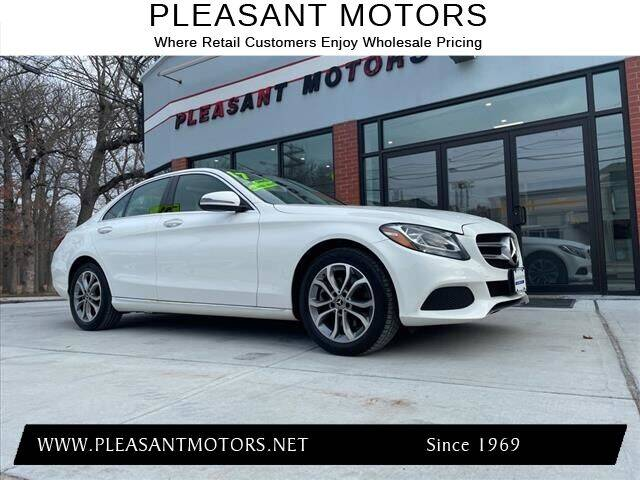 2017 Mercedes-Benz C-Class for sale at Pleasant Motors in New Bedford MA