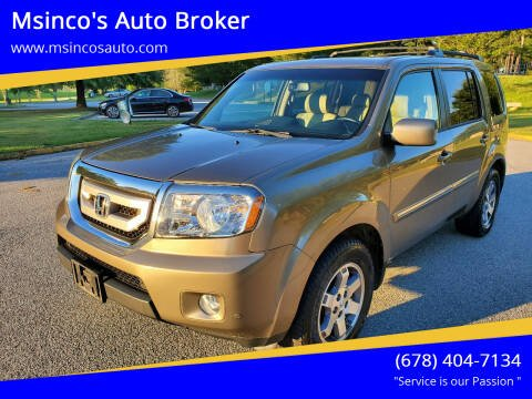 2011 Honda Pilot for sale at Msinco's Auto Broker in Snellville GA