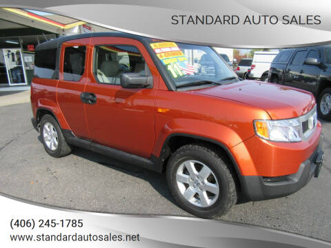 2011 Honda Element for sale at Standard Auto Sales in Billings MT