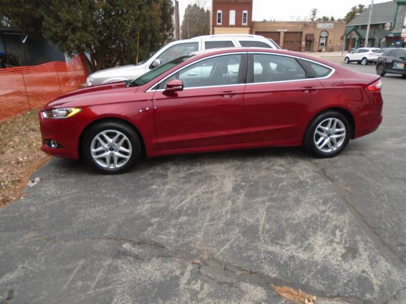 2013 Ford Fusion for sale at NORTHLAND AUTO SALES in Dale WI