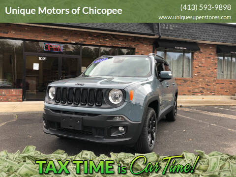 2017 Jeep Renegade for sale at Unique Motors of Chicopee in Chicopee MA