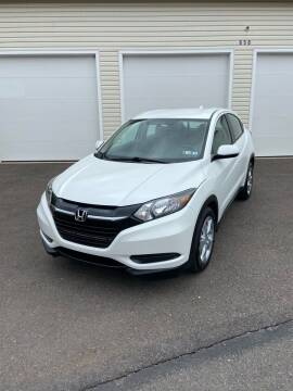 2018 Honda HR-V for sale at Interstate Fleet Inc. Auto Sales in Colmar PA