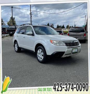 2010 Subaru Forester for sale at Corn Motors in Everett WA