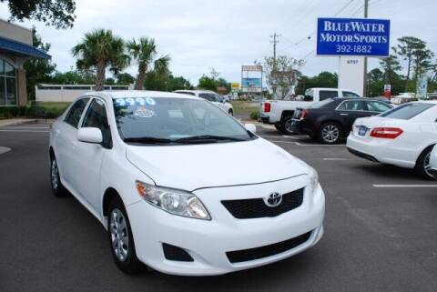 2010 Toyota Corolla for sale at BlueWater MotorSports in Wilmington NC