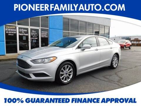 2017 Ford Fusion for sale at Pioneer Family auto in Marietta OH