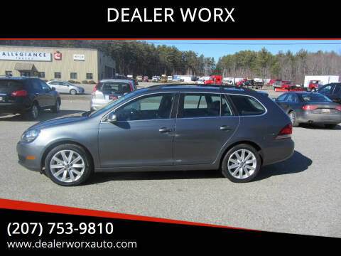 2011 Volkswagen Jetta for sale at DEALER WORX in Auburn ME