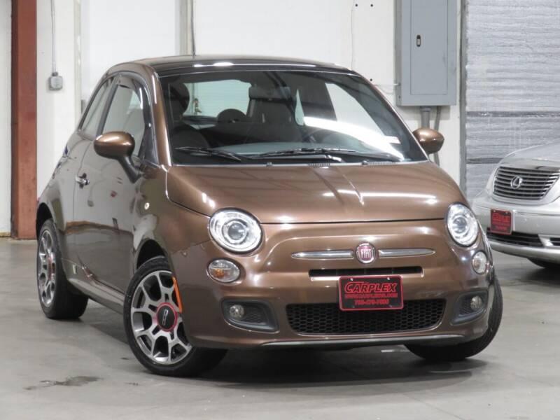 2012 FIAT 500 for sale at CarPlex in Manassas VA