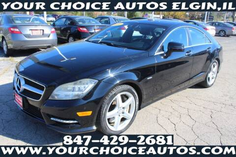 2012 Mercedes-Benz CLS for sale at Your Choice Autos - Elgin in Elgin IL