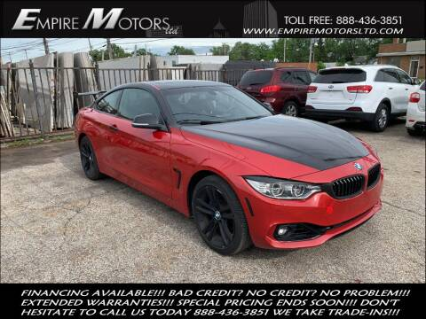 2015 BMW 4 Series for sale at Empire Motors LTD in Cleveland OH