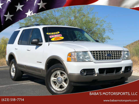 2002 Ford Explorer for sale at Baba's Motorsports, LLC in Phoenix AZ
