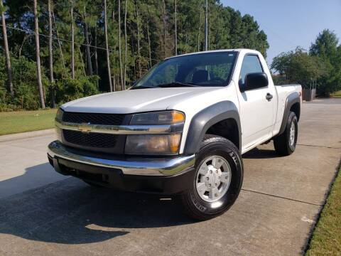 2006 Chevrolet Colorado for sale at M & A Motors LLC in Marietta GA