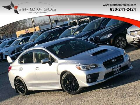 2017 Subaru WRX for sale at Star Motor Sales in Downers Grove IL