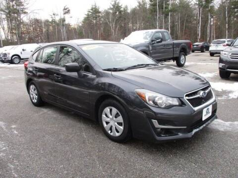 2016 Subaru Impreza for sale at MC FARLAND FORD in Exeter NH