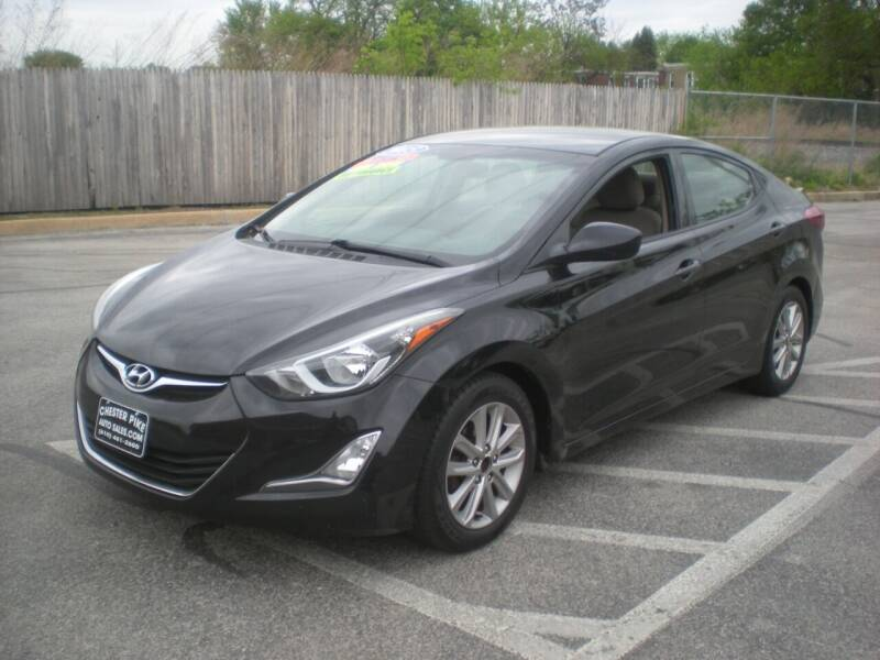 2015 Hyundai Elantra for sale at 611 CAR CONNECTION in Hatboro PA
