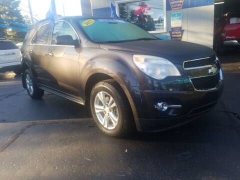 2013 Chevrolet Equinox for sale at Fleetwing Auto Sales in Erie PA