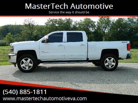 2016 Chevrolet Silverado 2500HD for sale at MasterTech Automotive in Staunton VA