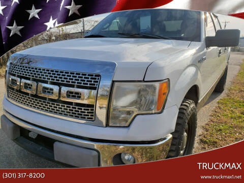 2013 Ford F-150 for sale at TruckMax in N. Laurel MD