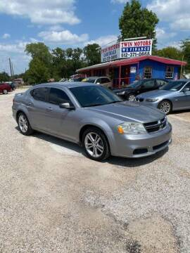 2013 Dodge Avenger for sale at Twin Motors in Austin TX