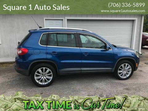 2009 Volkswagen Tiguan for sale at Square 1 Auto Sales in Commerce GA