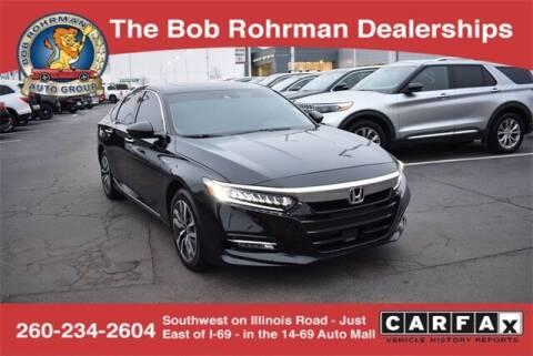 2019 Honda Accord Hybrid for sale at BOB ROHRMAN FORT WAYNE TOYOTA in Fort Wayne IN