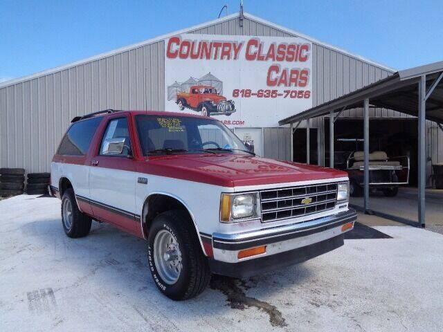 1986 Chevrolet S-10 Blazer for sale in Staunton, IL