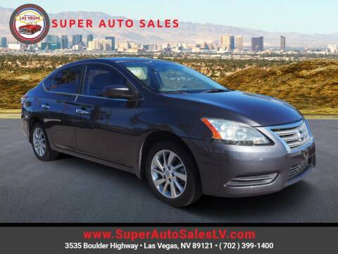 2014 Nissan Sentra for sale at Super Auto Sales in Las Vegas NV