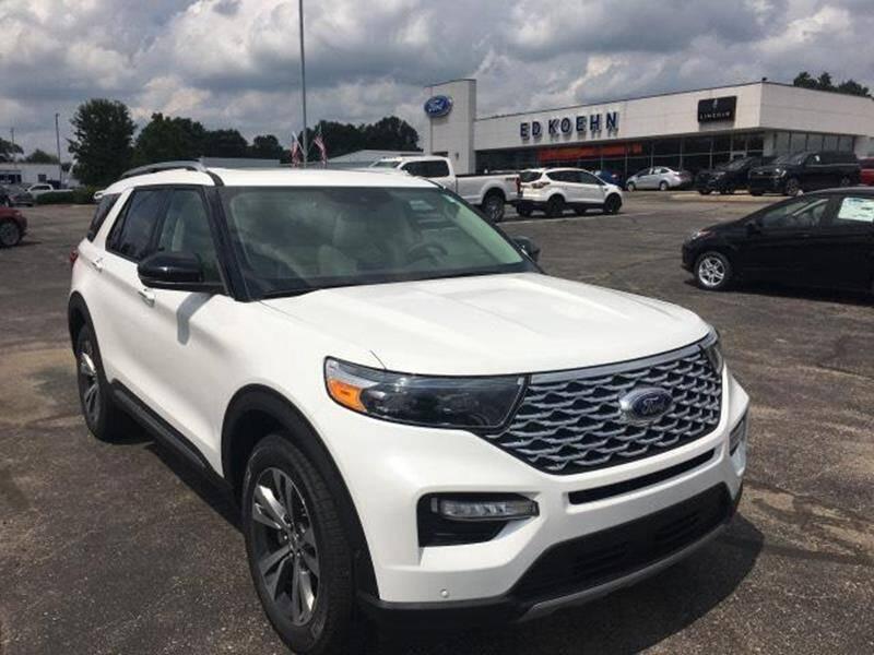 2020 Ford Explorer for sale in Greenville, MI