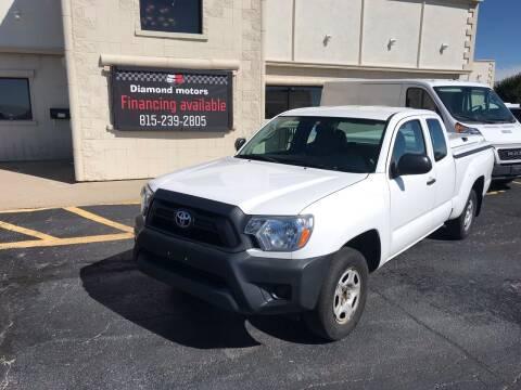 2015 Toyota Tacoma for sale at Diamond Motors in Pecatonica IL