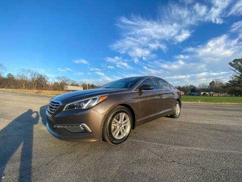 2015 Hyundai Sonata for sale at Tennessee Valley Wholesale Autos LLC in Huntsville AL