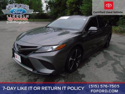 2018 Toyota Camry for sale at Fort Dodge Ford Lincoln Toyota in Fort Dodge IA