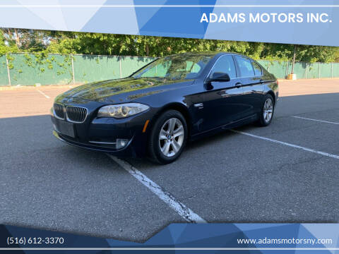 2012 BMW 5 Series for sale at Adams Motors INC. in Inwood NY