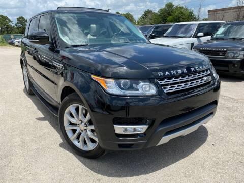 2015 Land Rover Range Rover Sport for sale at KAYALAR MOTORS in Houston TX