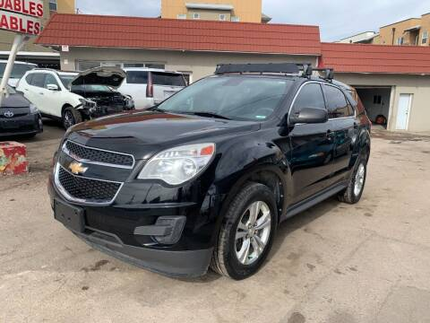 2012 Chevrolet Equinox for sale at STS Automotive in Denver CO