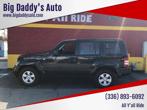 2010 Jeep Liberty for sale at Big Daddy's Auto in Winston-Salem NC