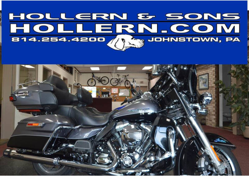 2014 Harley-Davidson Ultra Limited for sale at Hollern & Sons Auto Sales in Johnstown PA
