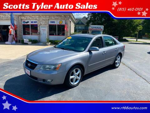 2007 Hyundai Sonata for sale at Scotts Tyler Auto Sales in Wilmington IL