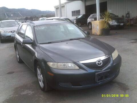 2004 Mazda MAZDA6 for sale at Mendocino Auto Auction in Ukiah CA