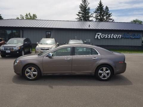 2011 Chevrolet Malibu for sale at ROSSTEN AUTO SALES in Grand Forks ND