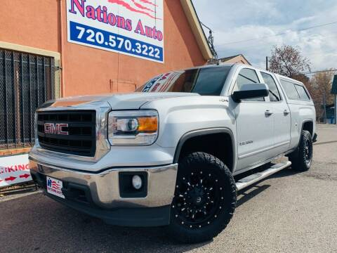 2014 GMC Sierra 1500 for sale at Nations Auto Inc. II in Denver CO
