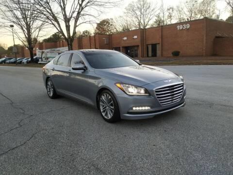 2016 Hyundai Genesis for sale at United Luxury Motors in Stone Mountain GA