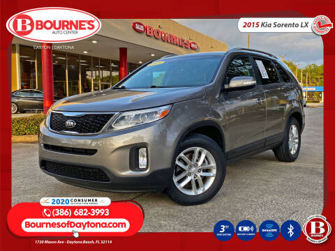 2015 Kia Sorento for sale at Bourne's Auto Center in Daytona Beach FL