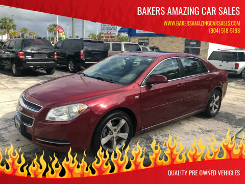 2008 Chevrolet Malibu for sale at Bakers Amazing Car Sales in Jacksonville FL