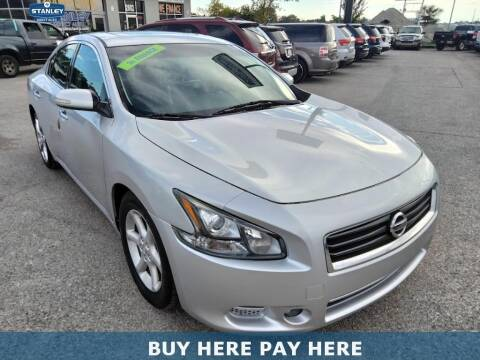 2012 Nissan Maxima for sale at Stanley Direct Auto in Mesquite TX