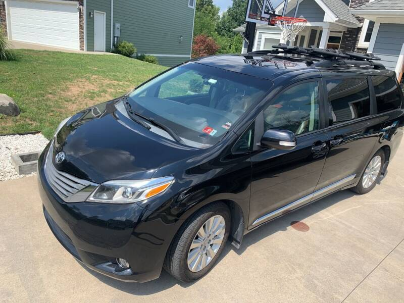 2015 Toyota Sienna for sale at Auto Town Used Cars in Morgantown WV