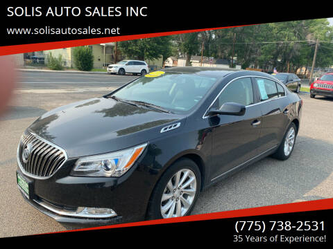 2014 Buick LaCrosse for sale at SOLIS AUTO SALES INC in Elko NV