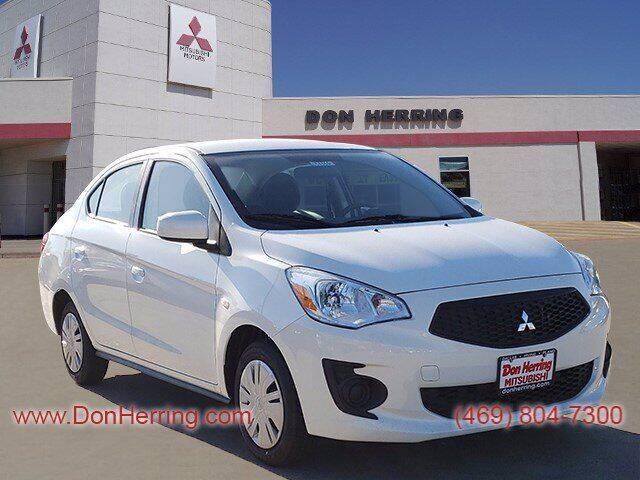 2020 Mitsubishi Mirage G4 for sale at DON HERRING MITSUBISHI in Irving TX